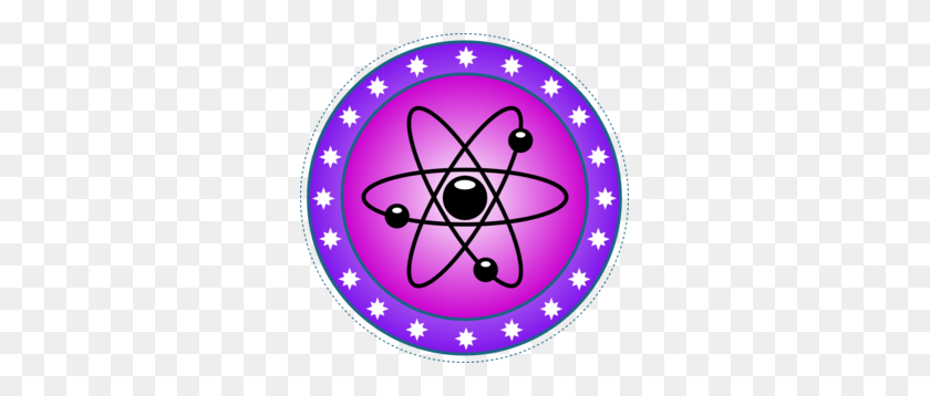 Nuclear Science Symbol Clip Art - Science Clipart Transparent