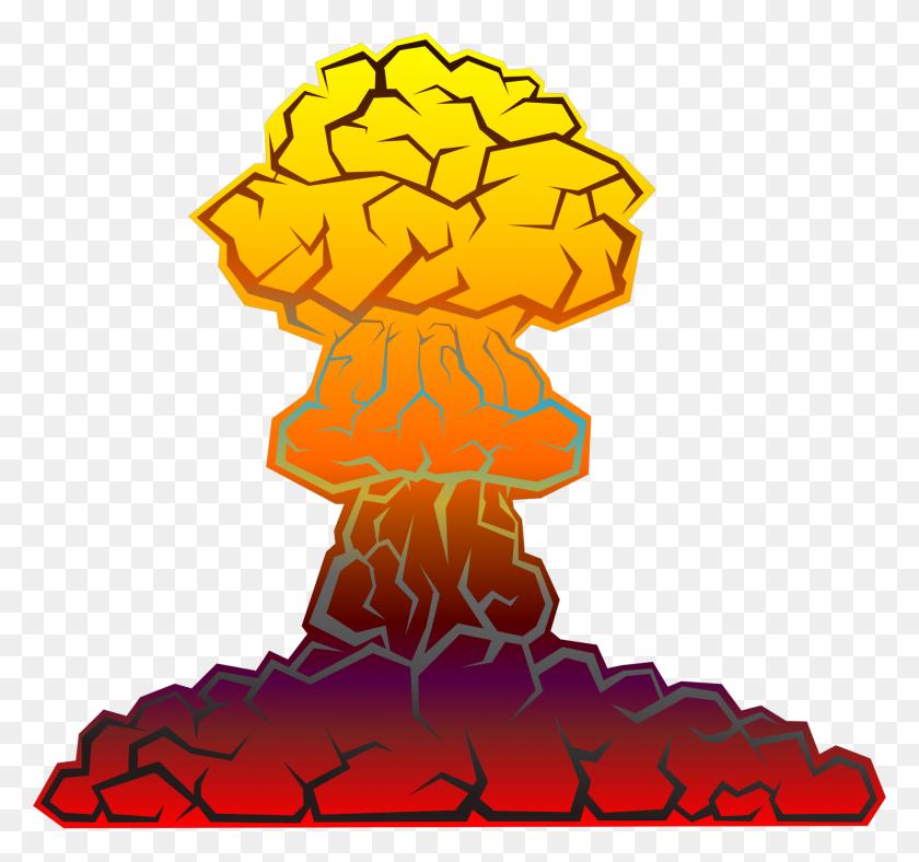 Nuke Clipart World War Bomb, Nuke World War Bomb Transparent - Brain Clipart Transparent