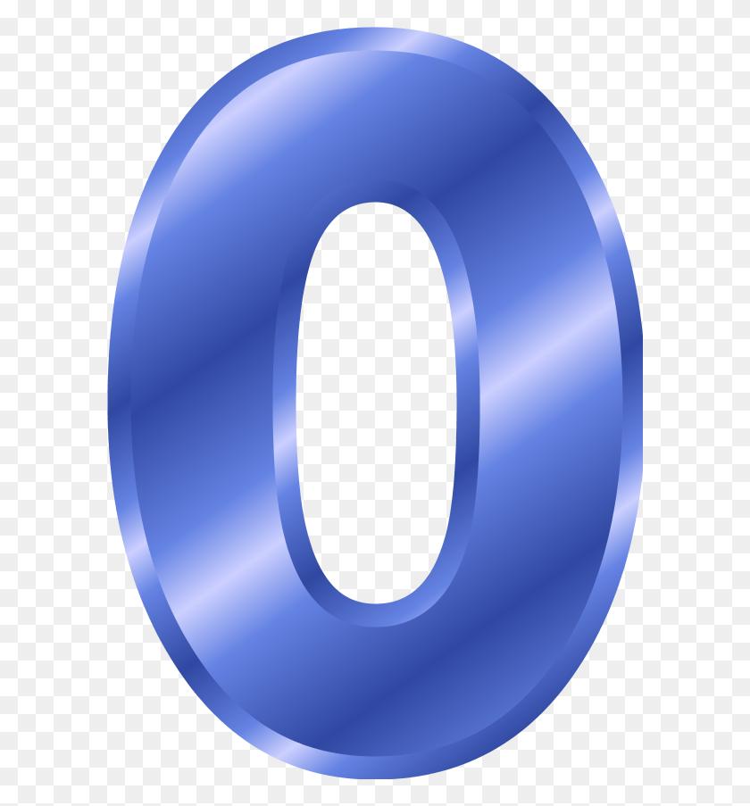Number Clip Art - 0 Clipart