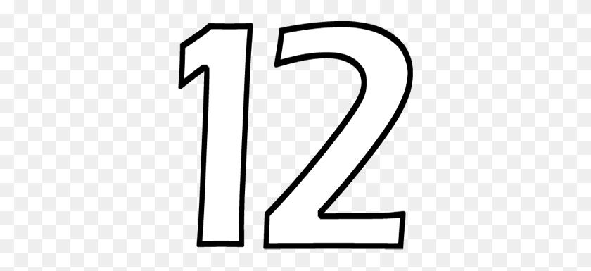 Number Clip Art - Number 12 Clipart