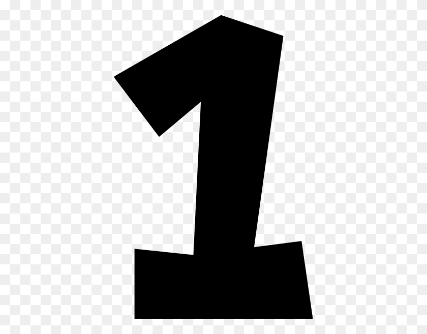 Number One - Number 1 Clipart