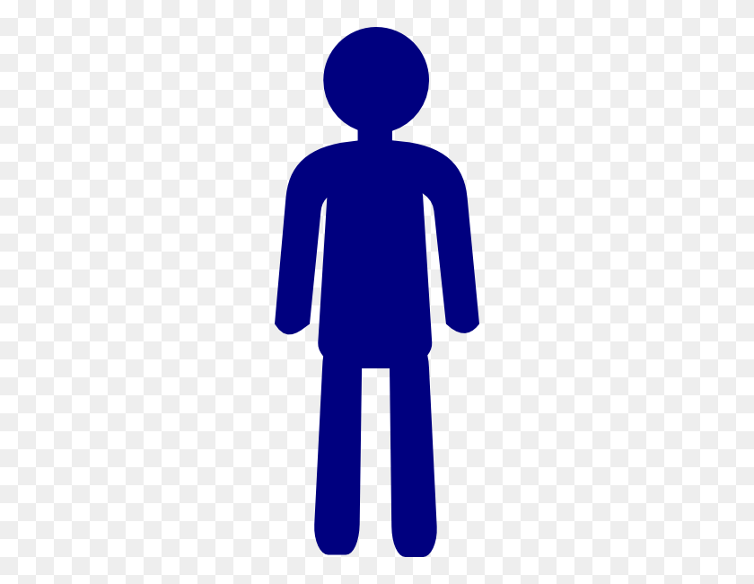 Number Person Cliparts - Person Standing Clipart