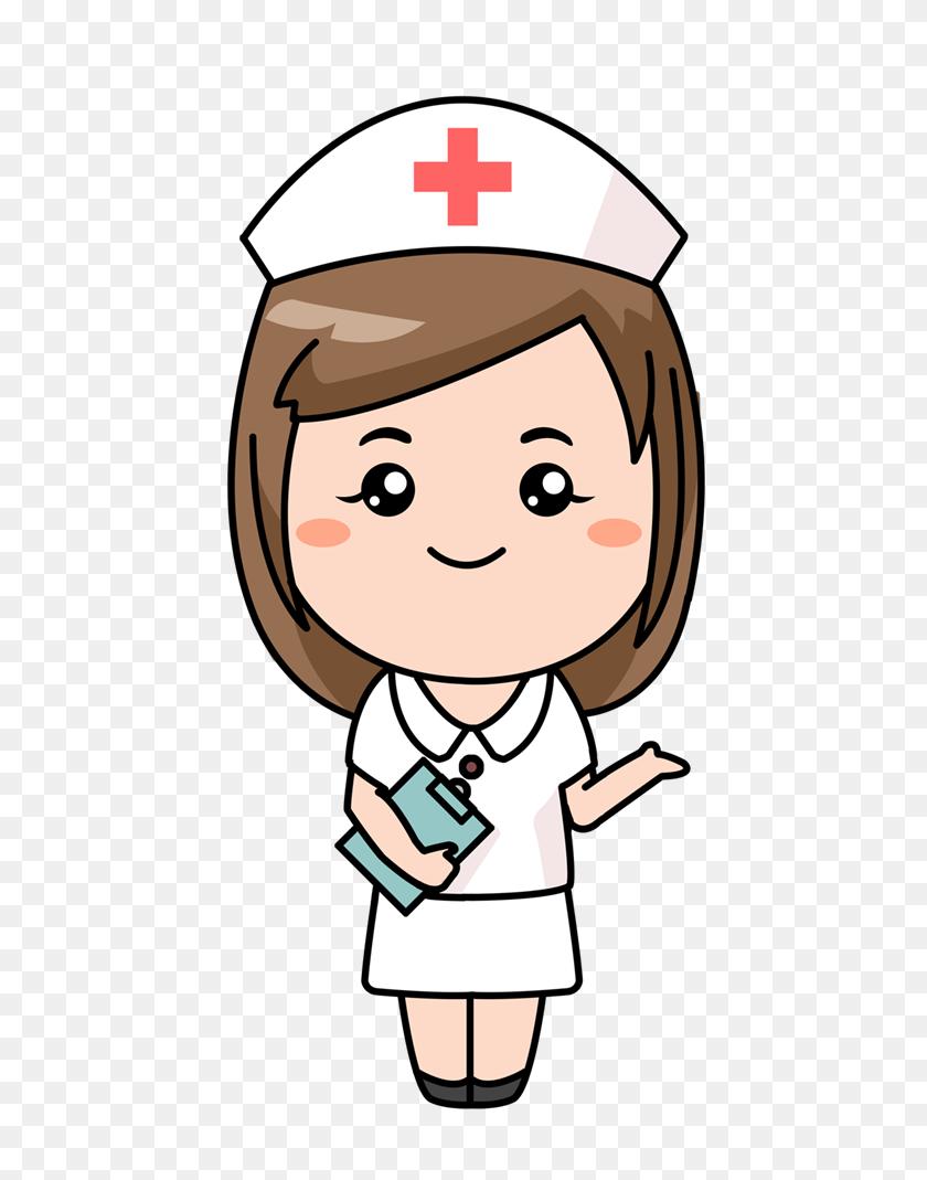 Nurse Graphics Clip Art Free Free Cute Cartoon Nurse Clip Art - School Nurse Clipart Black And White