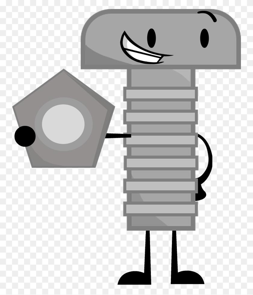 Nut Clipart Bolt, Nut Bolt Transparent Free For Download - Peanut Clipart