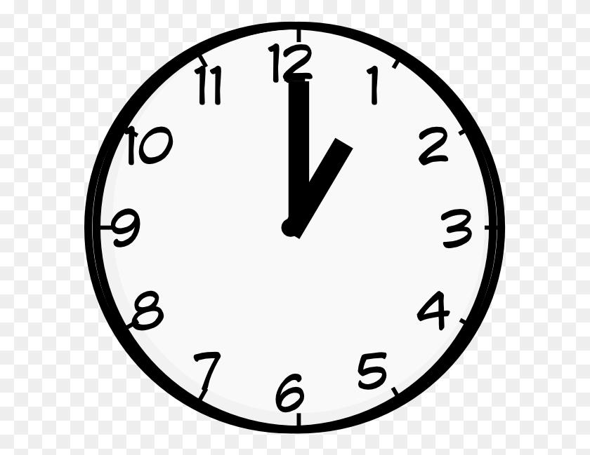 O Clock Clip Art - O Clipart