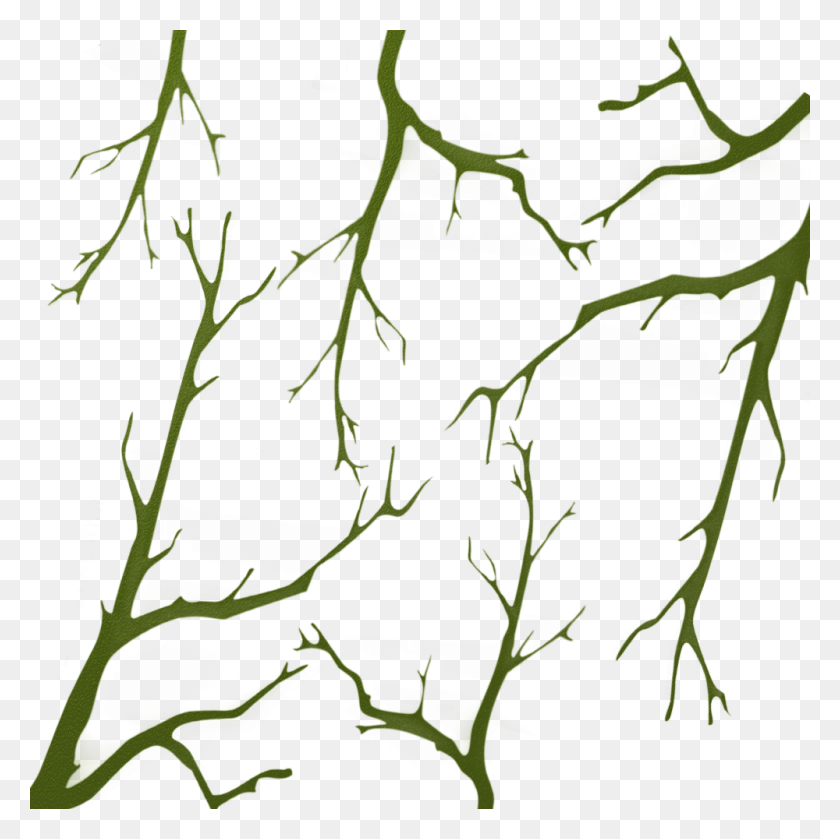 Oak Branches Camo Stencil - Camouflage PNG
