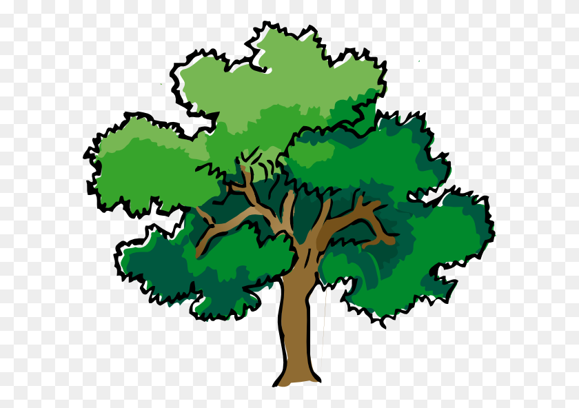 Oak Tree Clip Art Oak Tree Clip Art Clip Art Trees - Pine Forest Clipart