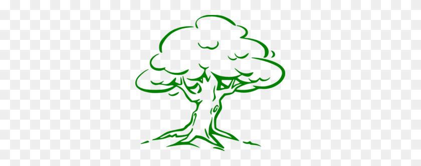 Oak Tree Clipart - Cedar Tree Clipart