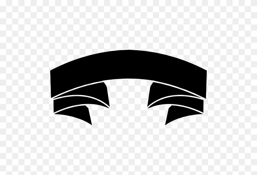 Object, Banners, Black, Ribbons, Shape, Shapes, Ribbon, Banner - Ribbon Banner PNG