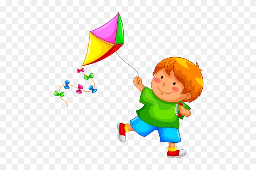 Obshchij Sbornik Cute Pictures Clip Art Cartoon Kids Kite