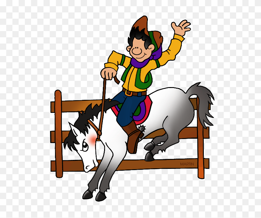 Occupations Clip Art - Rodeo Clipart