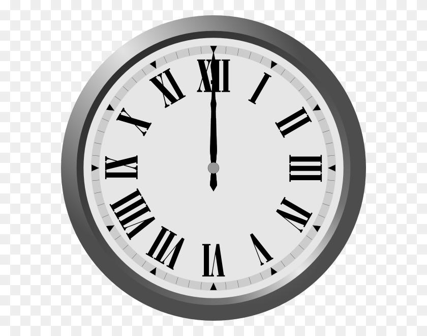 O'clock Cliparts - Analog Clock Clipart