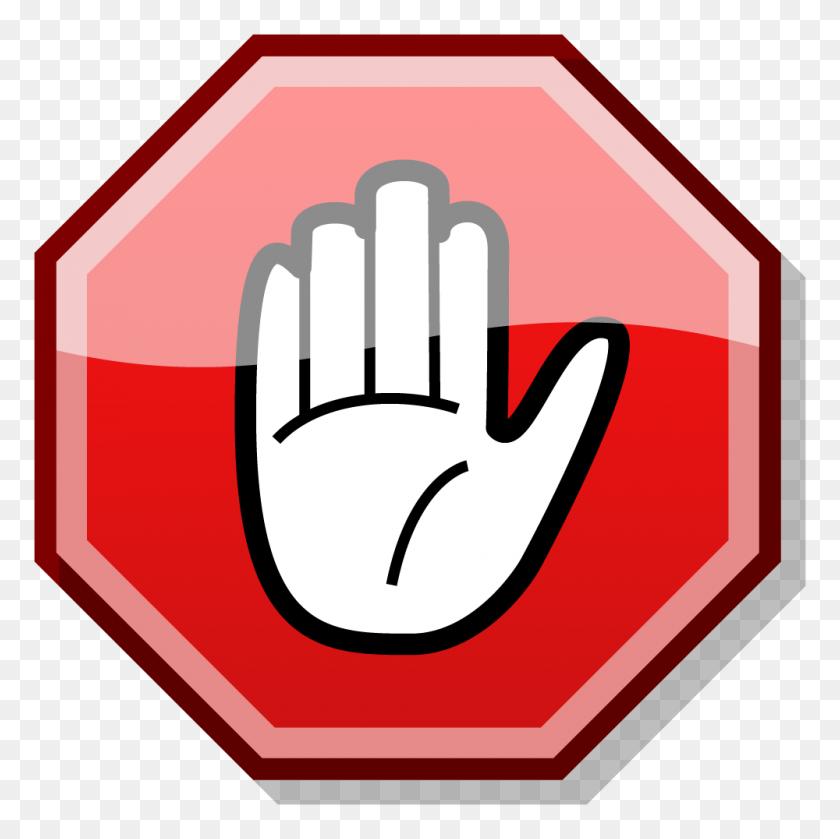 Octigon Clipart Stop Sign - Stop Clipart Black And White