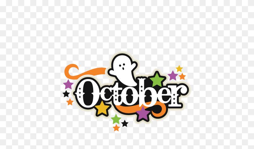 October Clip Art Stock Illustration Illustration Of Clip - Title Clipart