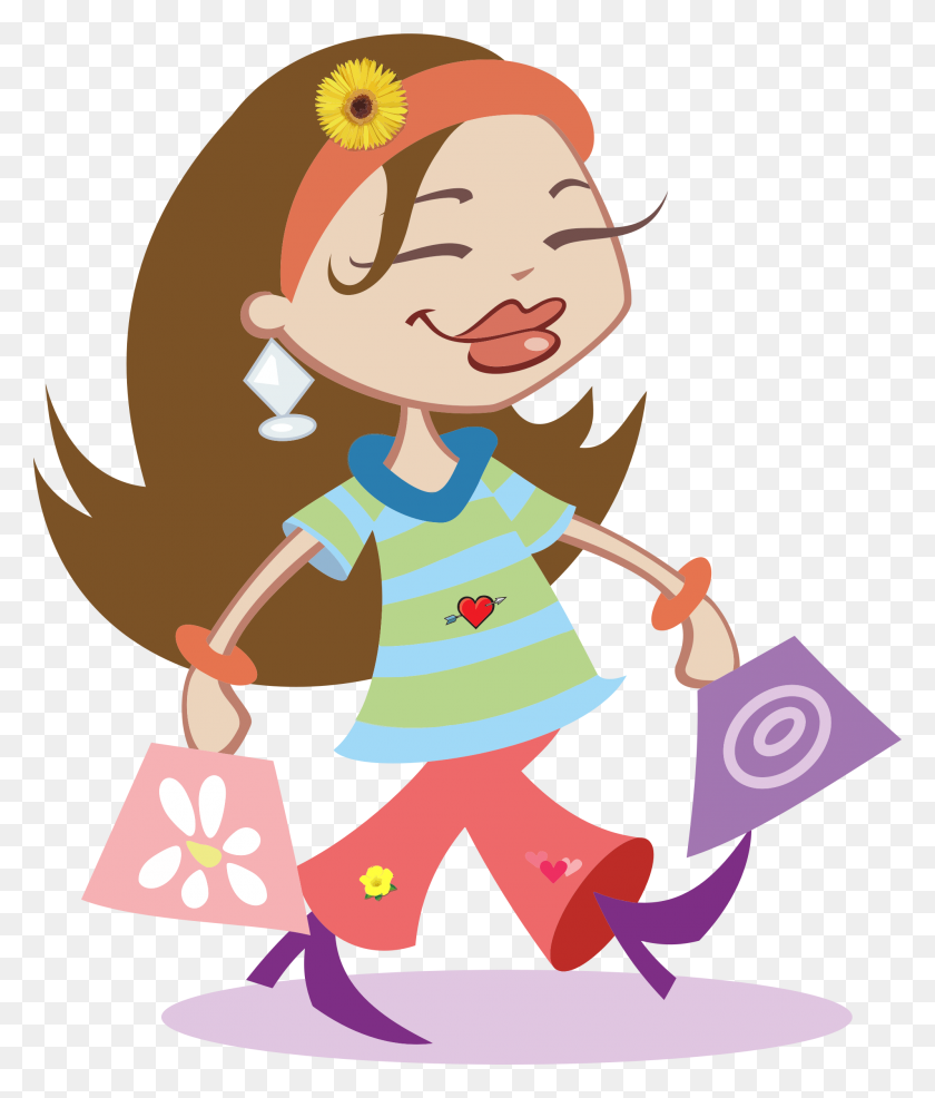 Off Sale Fashion Clip Art Shopping Clipart Fashion Girls Clip - Survival Clipart
