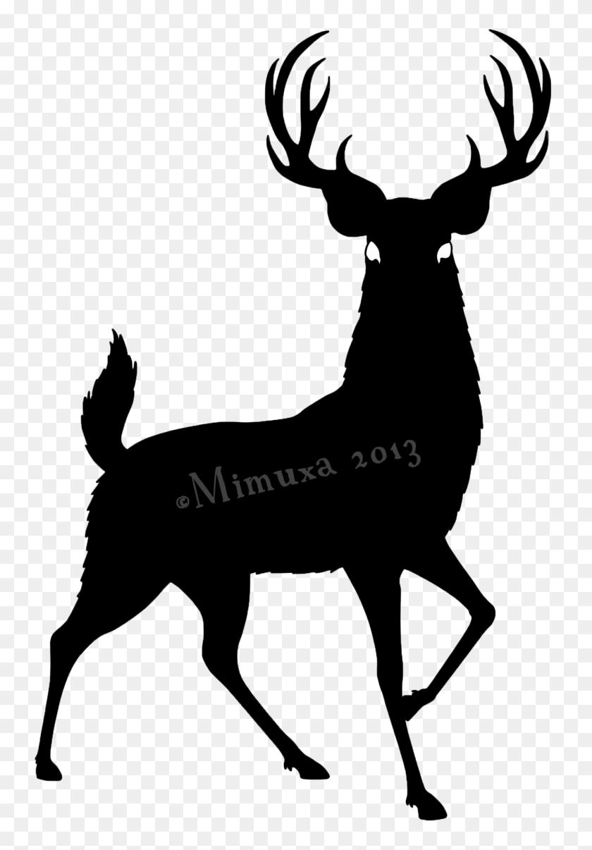 Oh Deer! - Elk Clipart Black And White