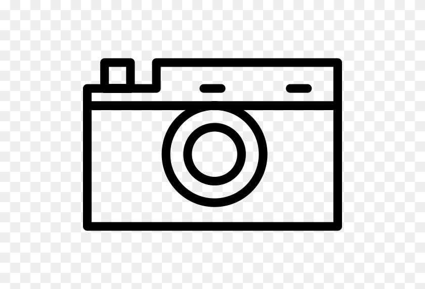 Old Camera, Old, Retro Icon With Png And Vector Format For Free - Old Camera Clipart