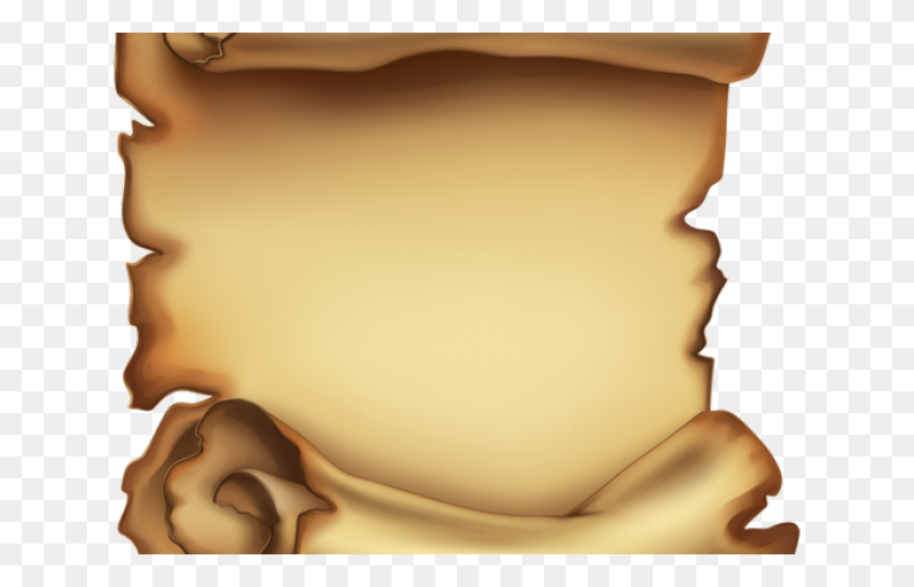 Transparent Parchment Scroll Clipart - Scroll Old Paper, HD Png Download -  kindpng