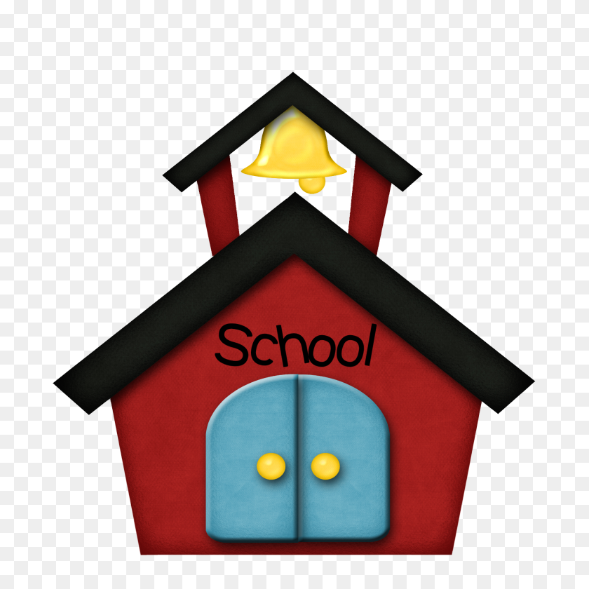 Old School Building Clipart - Old House Clipart
