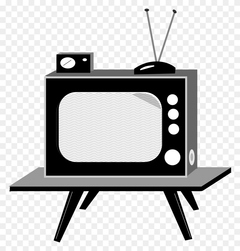 Old Television Png Image - Old Tv Clipart
