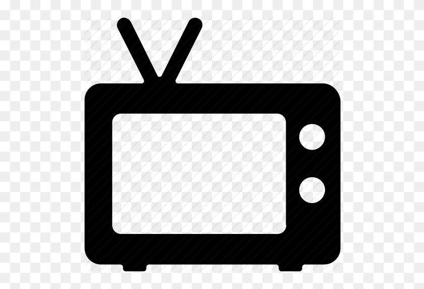 Old Tv, Retro, Television, Tv, Vintage Tv Icon - Retro Tv PNG
