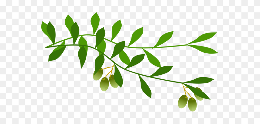 Tree Branch With Leaves Clip Art at Clker.com - vector clip art online,  royalty free & public domain