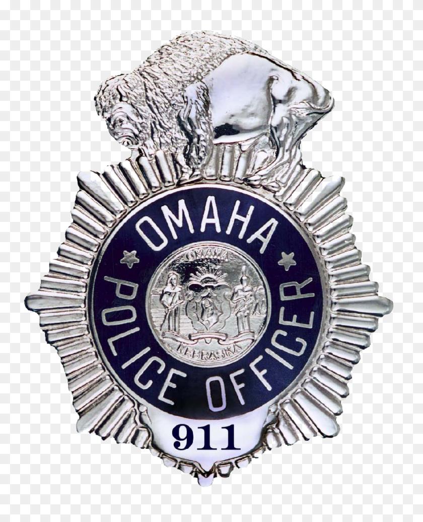 Omaha Police Nebraska Le Badges Omaha Police - Police Badge PNG