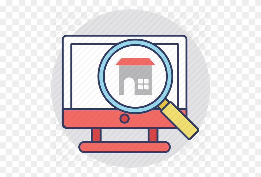 Online Mortgage, Online Property Purchasing, Online Property - Real Estate Images Clip Art
