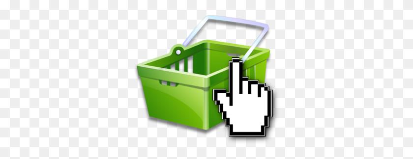 Online Shopping Basket Clip Art - Clipart Online Shopping