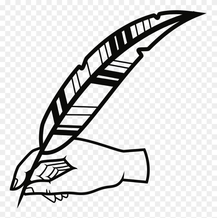 Onlinelabels Clip Art - Quill Pen Clipart