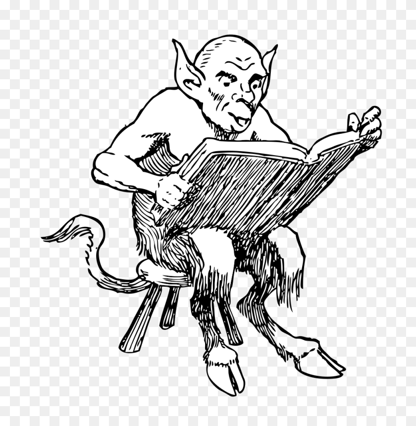 Onlinelabels Clip Art - Reading Book Clip Art