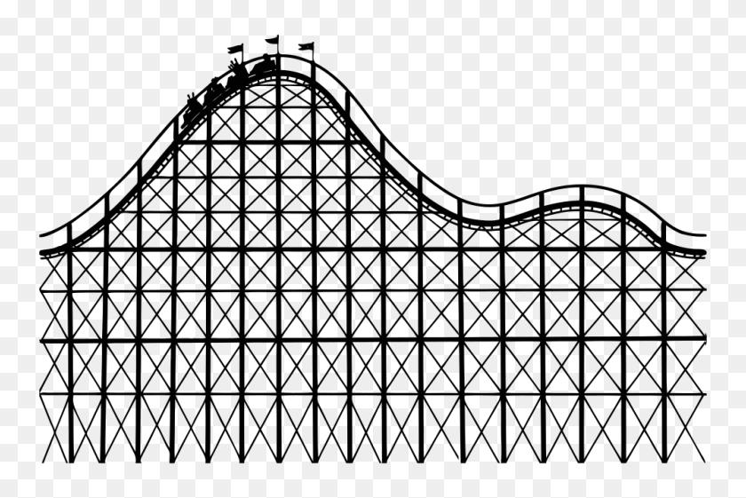 Onlinelabels Clip Art - Roller Coaster Clipart