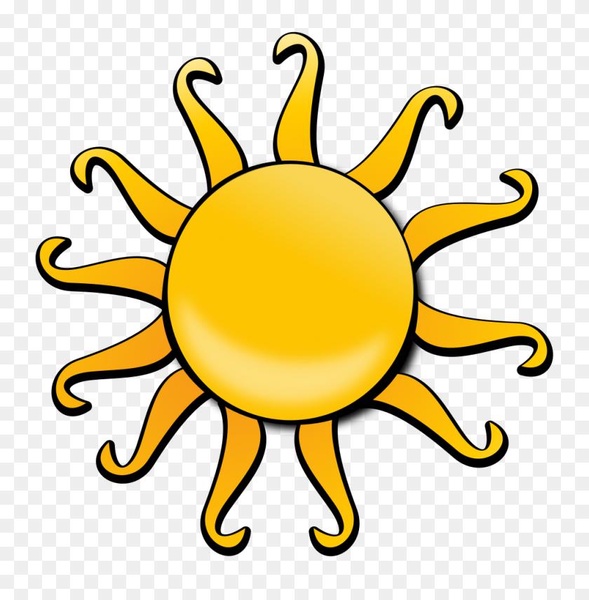 Onlinelabels Clip Art - Sun Cartoon PNG