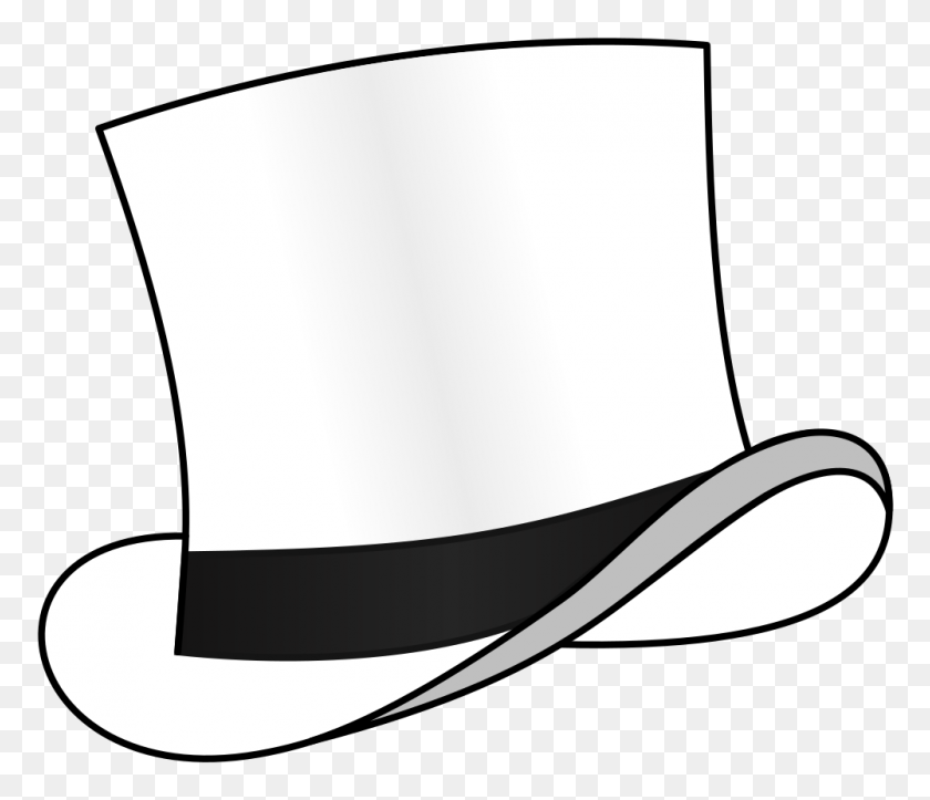 Onlinelabels Clip Art - White Hat PNG