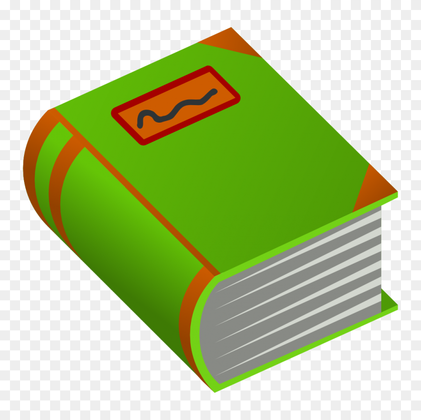 Onlinelabels Clip Art - Old Book PNG
