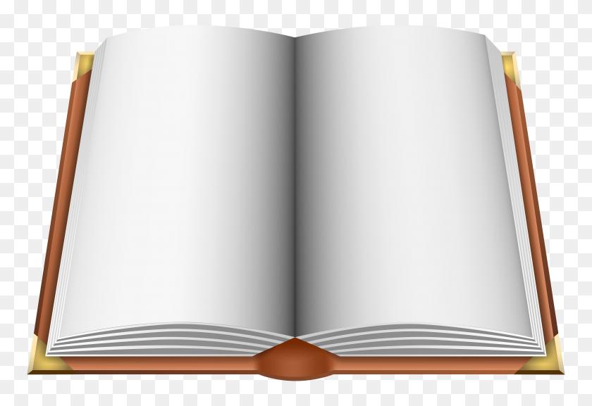 Open Book Brown Png Clip Art - Open Book Clip Art