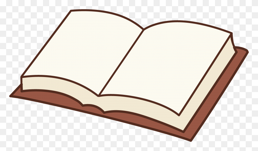 Open Book Design Clipart Free Image - Open Book Clip Art