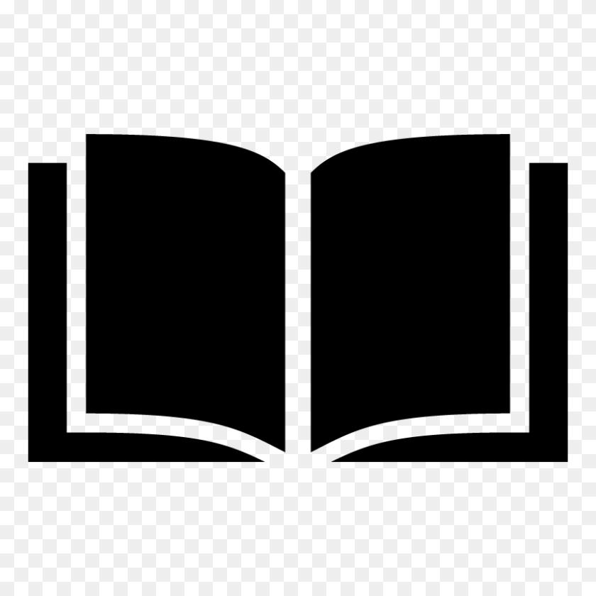 Open Book Icon Symbol Vector Free Vector Silhouette Graphics - Book Icon PNG