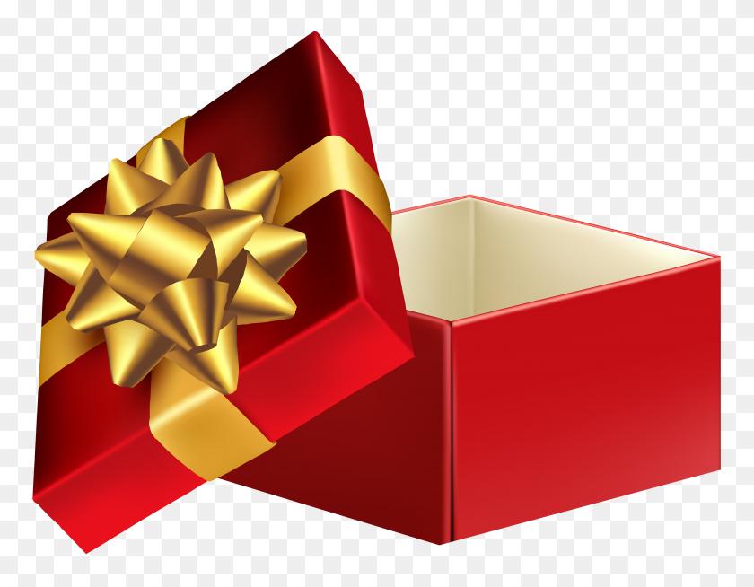 Open Gift Box Transparent Png Clip - Cartoon Pig Clipart