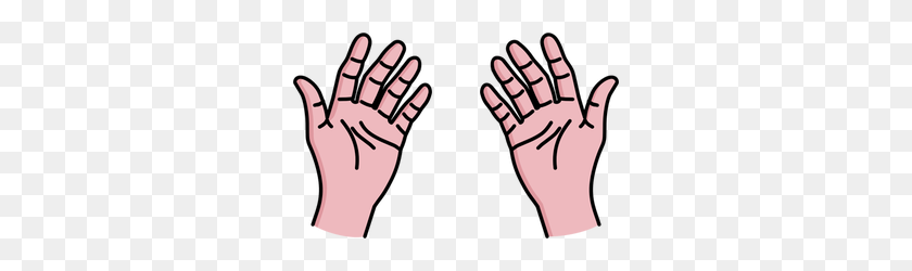 Open Hand Free Clipart - Open Hands PNG