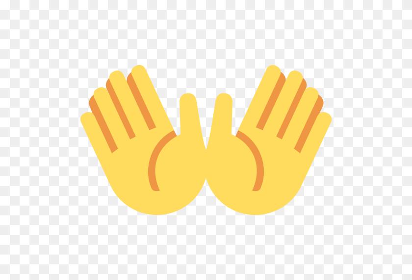 Open Hands Emoji - Open Hands PNG