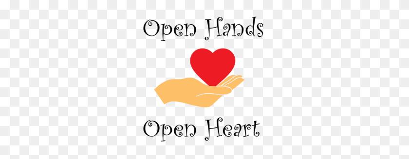 Open Hands Open Heart - Open Hands PNG