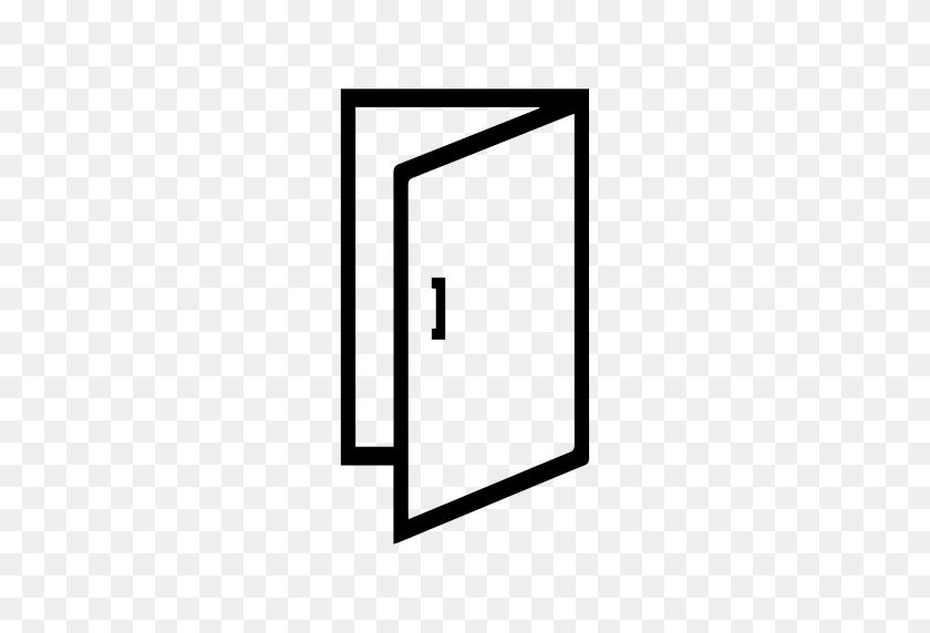 Open The Door, Door Open, Enter Sign Icon With Png And Vector - Open Door PNG
