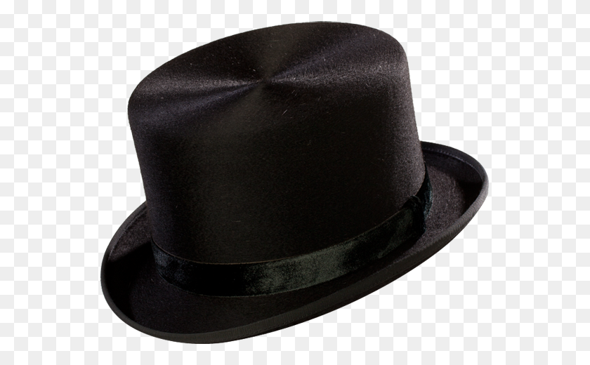 Optimo Hats The Top Hat In Black - Top Hat PNG