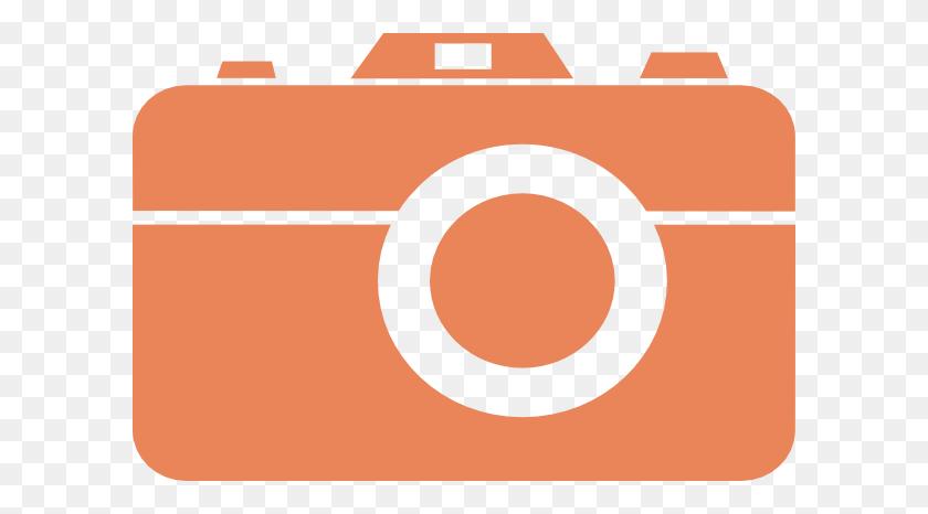 Orange Camera Thanks Clip Art - Thanks Clipart