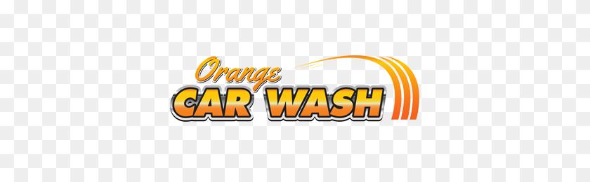 Orange Car Wash West Chapman Avenue Orange, California - Car Wash Logo PNG