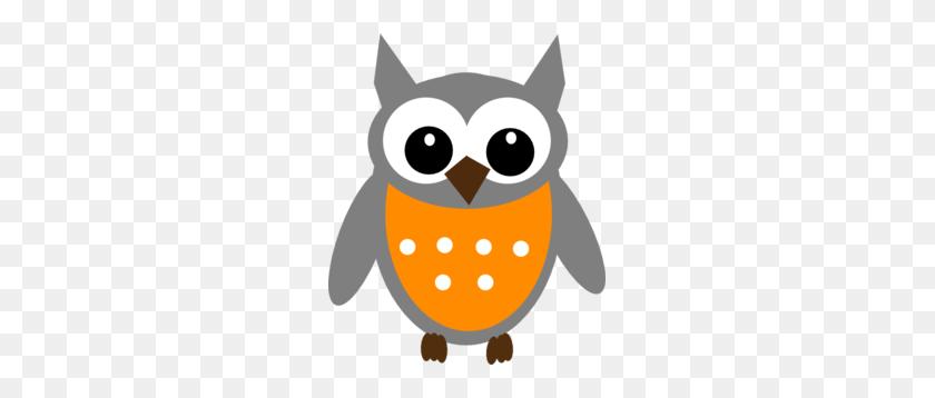 Orange Clipart Owls - Owl Images Clipart