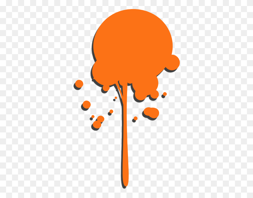 Orange Clipart Paint Splash - Paint Splash Clipart