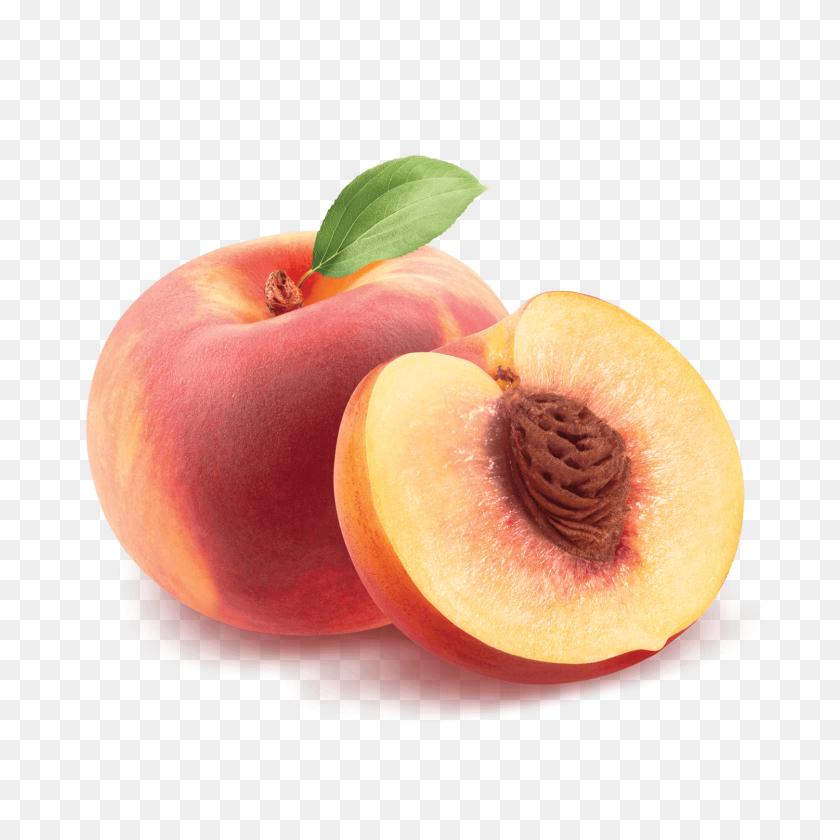 Orange Colored Peaches - Georgia Peach Clipart