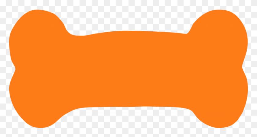 Orange Dog Bone Clipart Collection - Dog Bone PNG